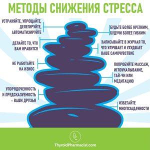 методы снижения стресса