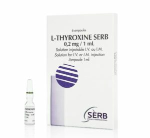 l-thyroxine Serb, solution injectable